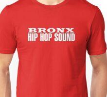 Bronx Hip Hop Sound (White) Unisex T-Shirt