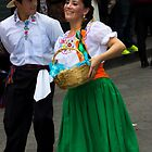 Dancers In Pase Del Nino Parade by Al Bourassa
