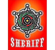 sheriff logo Photographic Print