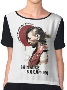 Shinsuke Nakamura Chiffon Top