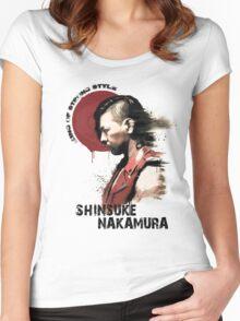 Shinsuke Nakamura Women's Fitted Scoop T-Shirt