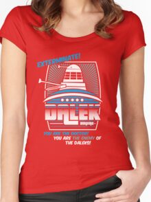 Dalek - Exterminate! Women's Fitted Scoop T-Shirt