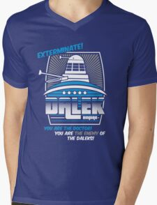 Dalek - Exterminate! Mens V-Neck T-Shirt