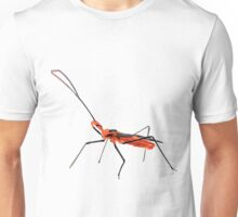Walking Assassin Bug Wheel Bug With Dagger Macro Close-up Unisex T-Shirt