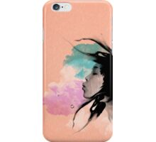 Psychedelic Blow Japanese Girl Dream iPhone Case/Skin