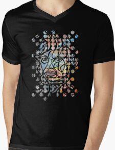 Staring Mens V-Neck T-Shirt