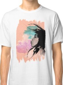 Psychedelic Blow Japanese Girl Dream Classic T-Shirt
