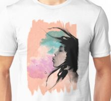 Psychedelic Blow Japanese Girl Dream Unisex T-Shirt