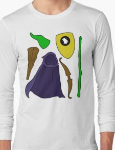 Dungeons & Dragons: The Weapons Long Sleeve T-Shirt