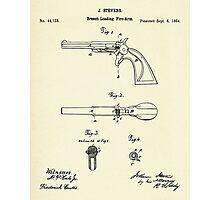 Breech-Loading Fire-Arm-1864 Photographic Print