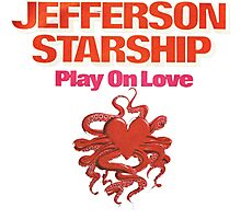 Jefferson Starship band Photographic Print
