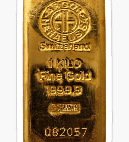Switzerland Fine Gold Sticker