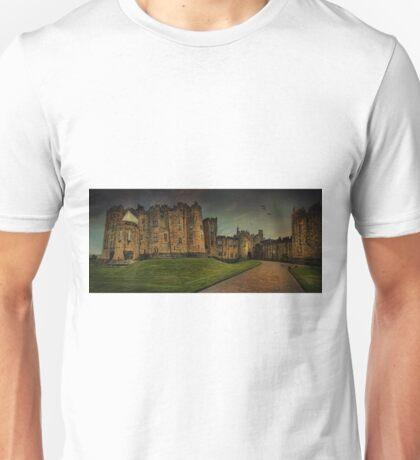 Alnwick Castle Panorama Unisex T-Shirt
