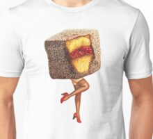 Hot Cakes - Lamington Girl Unisex T-Shirt