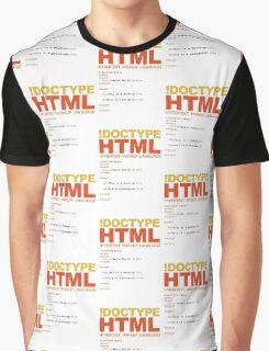 web design - HTML Graphic T-Shirt
