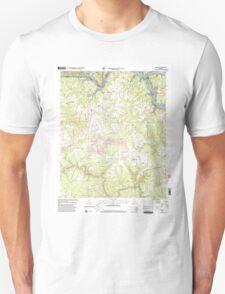 USGS TOPO Map Alabama AL Sunlight 305137 2000 24000 T-Shirt
