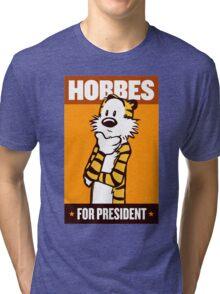 Hobbes For President Tri-blend T-Shirt