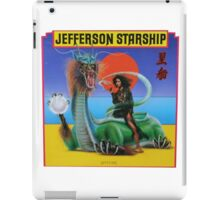 Jefferson Starship 3 iPad Case/Skin