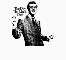 Buddy Holly : The Day When The Music Died Unisex T-Shirt