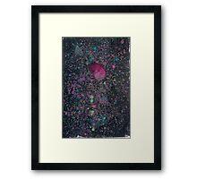 Spaceberries Framed Print