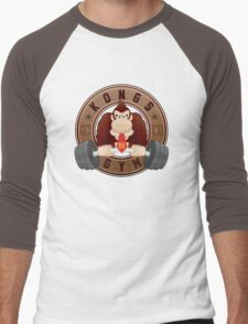 Kongs Gym (1/1) Men's Baseball ¾ T-Shirt