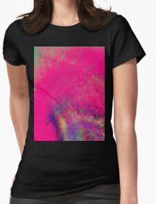 psychedelic barbie Womens Fitted T-Shirt