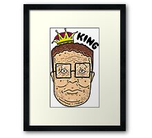 Just Can't Wait To Be King Framed Print