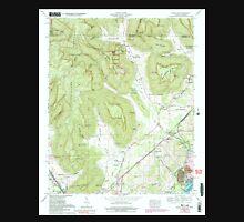 USGS TOPO Map Alabama AL Doran Cove 303699 1967 24000 Unisex T-Shirt
