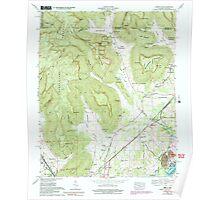 USGS TOPO Map Alabama AL Doran Cove 303699 1967 24000 Poster