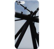 futuristic construction 4 (detail) iPhone Case/Skin