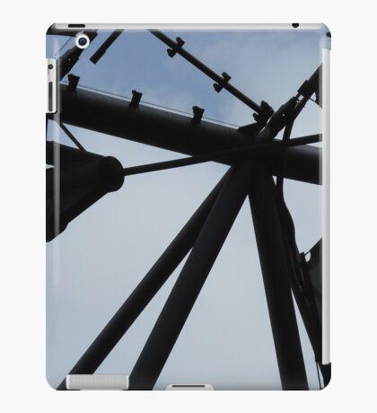 futuristic construction 4 (detail) iPad Case/Skin
