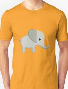 Cute Gray Baby Elephant Unisex T-Shirt