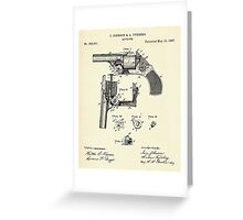 Revolver-1887 Greeting Card