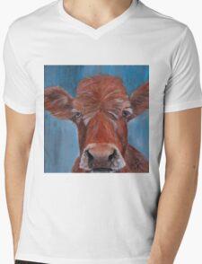 Old Blue  Mens V-Neck T-Shirt