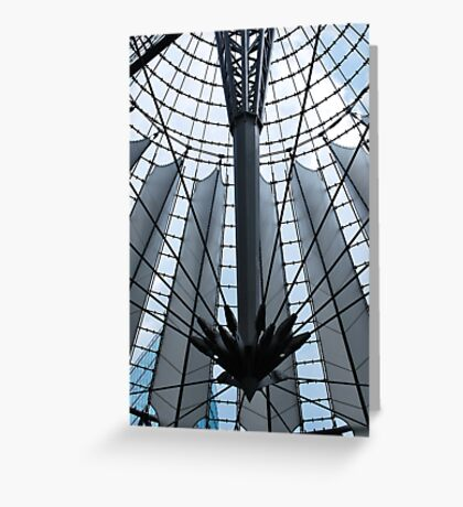 futuristic construction 5 Greeting Card