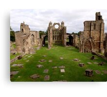 Elgin Cathedral (1) Canvas Print