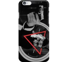 POI NOIR John Reese iPhone Case/Skin