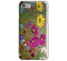 Spring Wild Flowers  iPhone Case/Skin