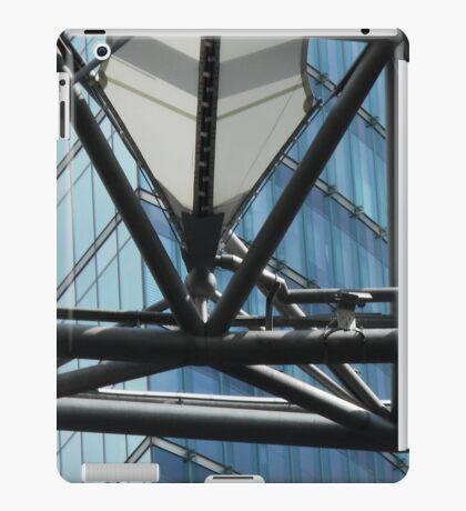 futuristic construction 6 (detail) iPad Case/Skin