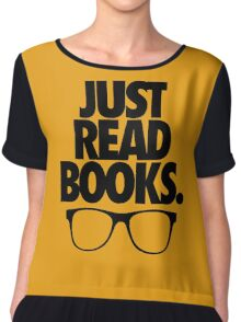 JUST READ BOOKS. Chiffon Top