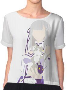 Emilia Anime Manga Shirt Chiffon Top