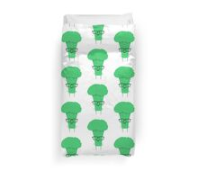 Smart as a broccoli Duvet Cover