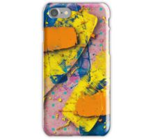 Yellow Slides / Negative Z by Larry Hefner iPhone Case/Skin