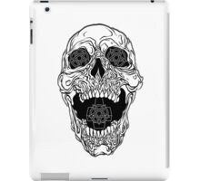 Satanic Skull Design, Gost iPad Case/Skin