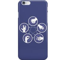 paper scissors stone iPhone Case/Skin