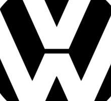 Volkswagen emisisons Sticker