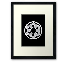 Imperial Crest Logo Framed Print