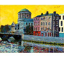 Four Courts from East, Dublin, Ireland Photographic Print