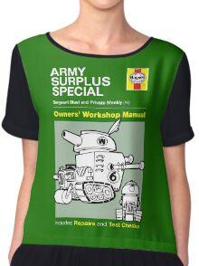Haynes Manual - Army Surplus special - T-shirt Chiffon Top