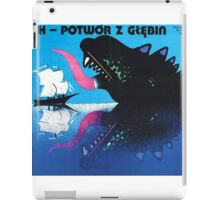 The Sea Monster iPad Case/Skin